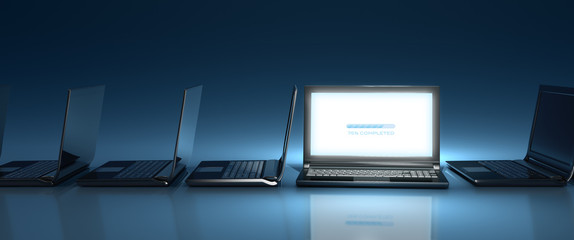 New website introduction - widescreen
