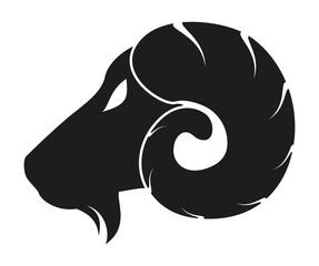 Goat head icon