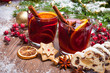 canvas print picture - Mulled wine