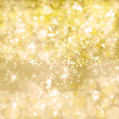 Merry Christmas: Atmospheric golden background :)
