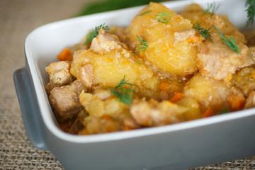stewed potatoes
