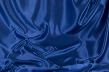 Dark Blue Satin Background