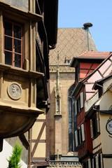 Colmar, angle de la maison  Pfister