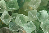 green fluorite mineral background