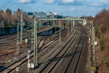 Düsseldorf Unterrath - Bahnhof
