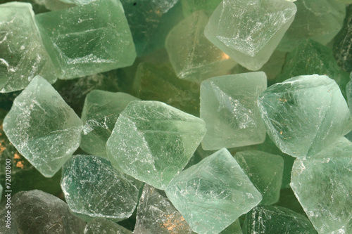 Fotobehang Edelsteen green fluorite mineral background