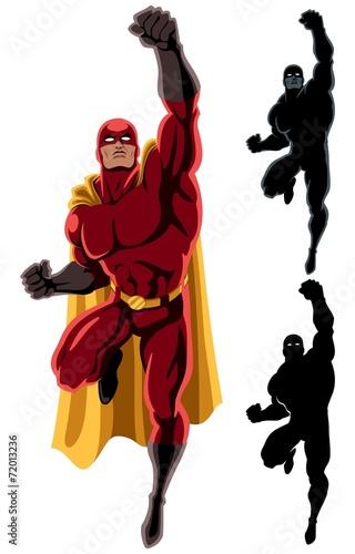 Superhero Flying 2 - 72013236