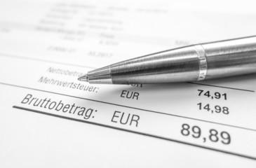 Rechnung / Buchhaltung