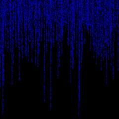 background of binary figures