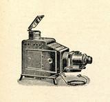 Opaque projector (epidiascope) poster