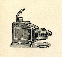 Opaque projector (epidiascope)