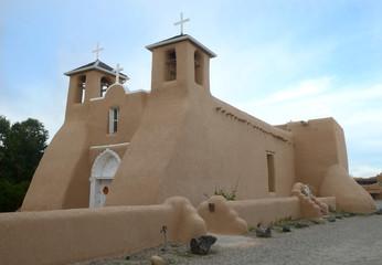 The San Francisco de Asis Church in Taos, Mew Mexico