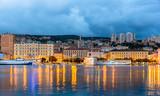 View of Rijeka city in Croatia