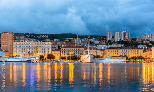 View of Rijeka city in Croatia - 72018219