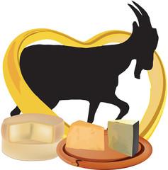 formaggi di capra