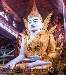 Buddha at Ngahtatkyi Pagoda in Yangon, Myanmar