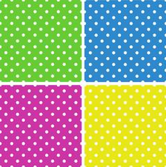 Seamless  polka dot background pattern. Vector