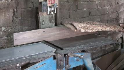 Man working in a Cuban carpentry