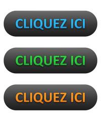 """Boutons Web """"CLIQUEZ ICI"""" (s'inscrire réserver acheter)"""