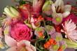 canvas print picture - Bouquet de fleurs