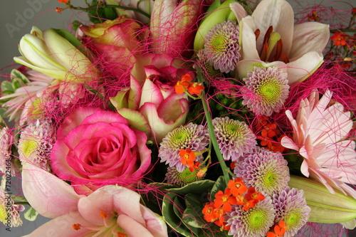 canvas print picture Bouquet de fleurs