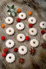 alberello di Natale con i biscotti