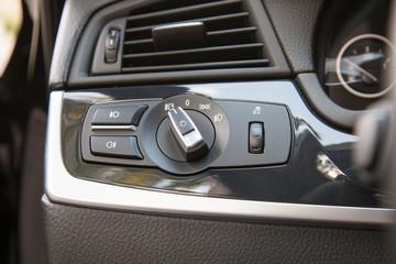 Headlighs control knob