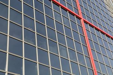 Fachada De Rascacielos. Torres Kio, Madrid.