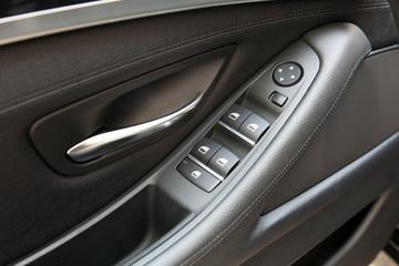 Window raiser control in a modern car
