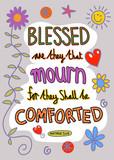 Bible Verse Art poster