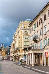 Buildings in Rijeka - Croatia