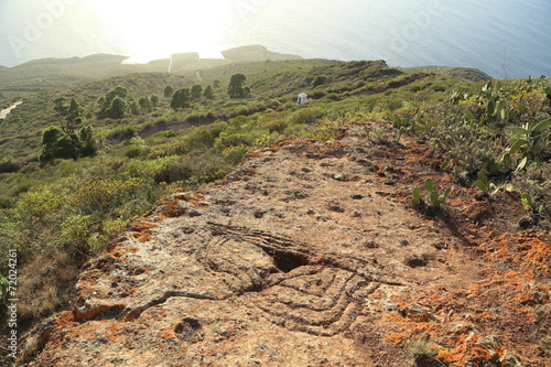 canvas print picture Petroglifos
