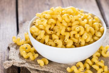 Pasta Curls (close-up shot)