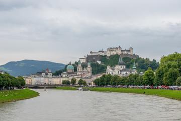 Salzach und Salzburg