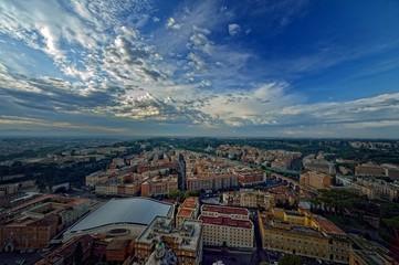 Panorama su Roma
