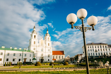 Cathedral of Holy Spirit in Minsk - the main Orthodox church of