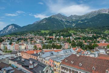 Aussicht über Innsbruck