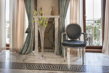 Interior of a classic style villa