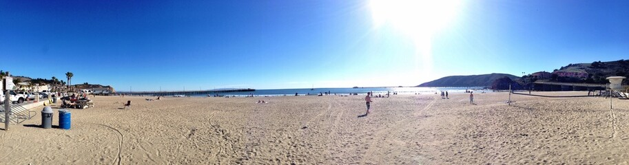 Nice panorama view at Avila Beach