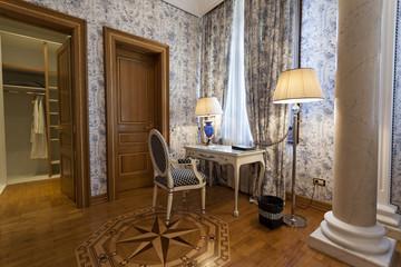 Interior of a luxury villa