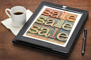 sale word abstract