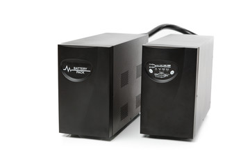 uninterruptible power supply (ups) with reserve battery