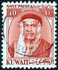 Sheikh Abdullah III the first Emir of Kuwait (Kuwait 1958)