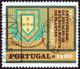 Agricultural Center in Elvas Station Badge (Portugal 1970)