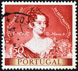 Queen Maria II (Portugal 1953)