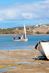 pêcheurs rodriguais, anse Mourouk, île Rodrigues