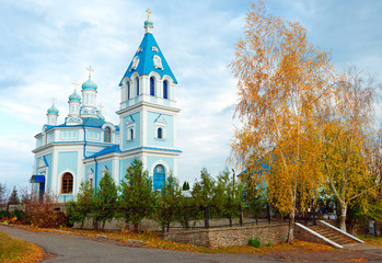 Small Orthodox church in the village Kochetok.