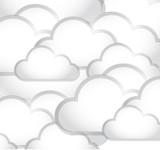 clouds illustration design