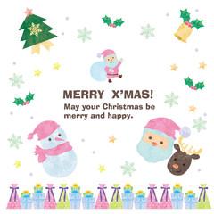 クリスマス 素材 メッセージ