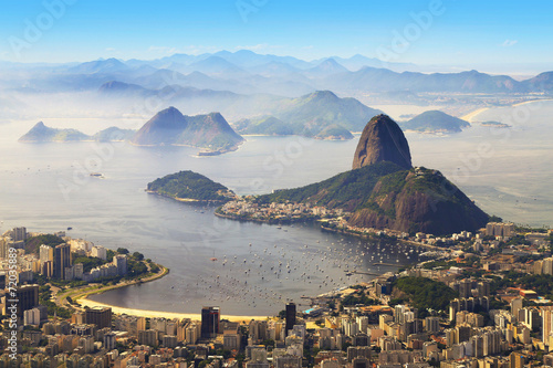 Poster Sugarloaf, Rio de Janeiro, Brazil